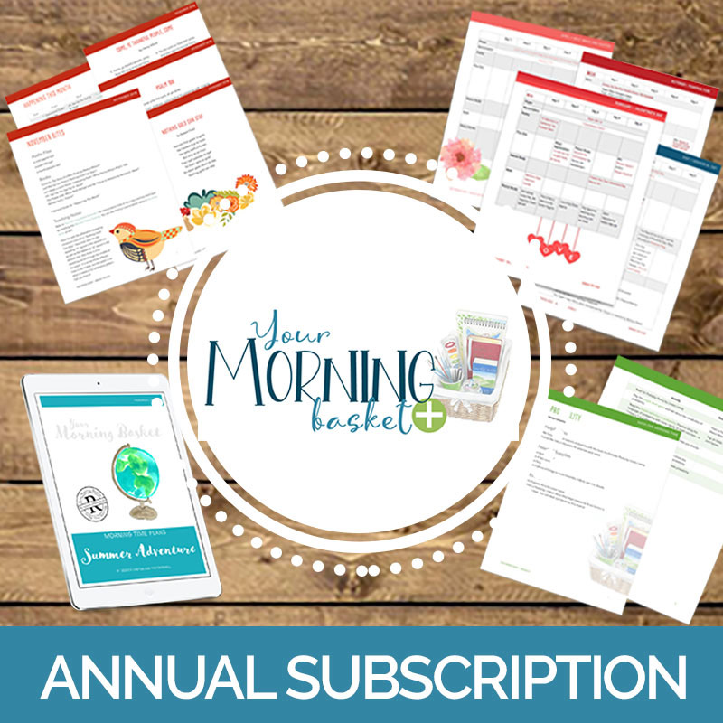 Your Morning Basket Annual Subscription
