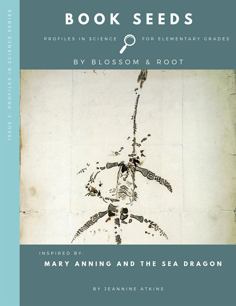 Blossom & Root Book Seeds Mary Anning and the Sea Dragon
